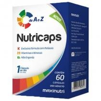 Nutricaps A a Z - 60 cápsulas - Maxinutri -