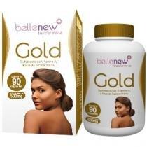Nutricosmético Gold Betacaroteno 90 Cápsulas - Bellenew