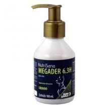 Nutrisana Megader 6,3 Suplemento Pele e Pelo H 100ml - Mundo Animal - Mundo Animal