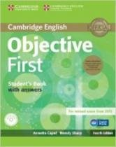 Objective First Student Book Pack - Cambrigde - 1