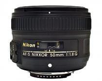 Objetiva Nikon 50mm Af-s f1.8 G - Nikon