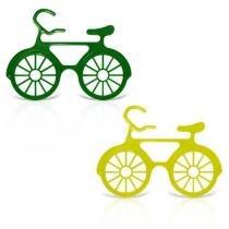 Óculos Bicicleta Verde e Amarelo 12 unidades - Festabox