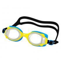0c6814759 Óculos de Natação Infantil - Lappy - Azul - Amarelo - Speedo -