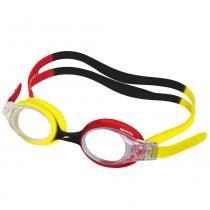 262db1858 Óculos de Natação Infantil - Quick Junior - Vermelho - Amarelo - Speedo -