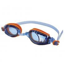 2f133ef3d Óculos De Natação Raptor Laranja Azul Speedo -