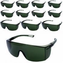 Óculos de Proteção Rayban Verde Sky WPS0209 com 12 Unidades DELTA PLUS -