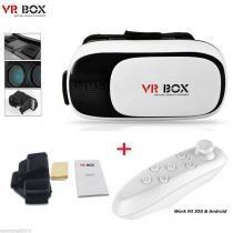 Oculos de realidade virtual 3d para smartphone vr box 2.0 - Vr box