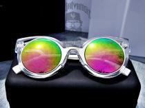 Óculos de Sol GATINHO LAS Drop mE Transparente Rosê - Drop me acessorios