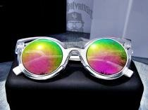 Óculos de Sol GATINHO LAS Drop mE Transparente Rosê - Drop me acessorios f8e009dc4f