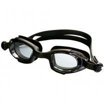 Óculos para Natação Latitude Junior Preto Hammerhead -