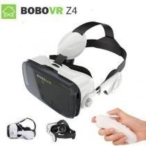 Óculos Virtual Bobovr Z4 Fone Acoplado 3d + Controle -