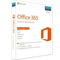 Office 365 home 32/64 brazilian sub1yr (soft 6gq-00647) - Microsoft