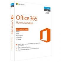 Office 365 Home 5 Licenças 1TB de Memória - Microsoft