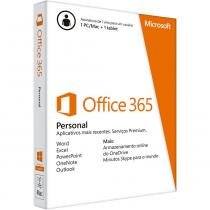Office 365 Personal 32/64 Bits MICROSOFT -