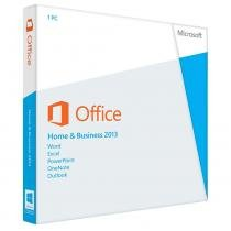 Office Home Business 2013 FPP 32/64 Bits T5D-01674 Microsoft - Microsoft