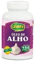 Óleo de Alho 150 Cápsulas 350mg - Unilife -