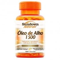 Óleo de Alho 1500 Sundown 100 cápsulas - Sundown naturals vitaminas