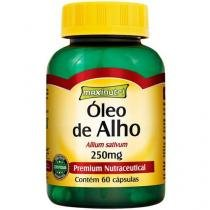 Óleo de Alho 250mg 60 Cápsulas - Maxinutri