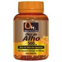 Óleo De Alho 500 Mg 60 Softgels - OH2 Nutrition