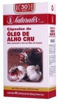 Óleo de Alho Crú (250mg) 40 Cápsulas - 40 Cápsulas - Naturalis