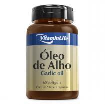 Óleo de Alho GARLIC OIL 250mg - VitaminLife - 60 Softgels -