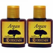 Óleo de argan puro crescenew com 2 unidades -