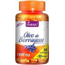 Óleo de Borragem - Tiaraju - 30 + 10 cápsulas 1000mg -