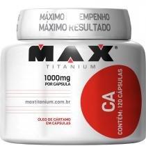 Óleo de Cartamo CA - Max Titanium - 120 Caps -