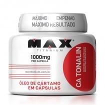Óleo de cartamo Ca Tonalin - 120 Caps - Max Titanium -