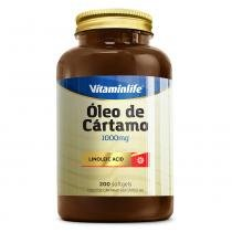 Óleo de Cártamo - Linoleic Acid (1000mg) 200 Softgels - Vitaminlife -