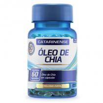 Óleo de Chia - 60 cápsulas - Catarinense - Catarinense pharma