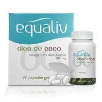 Óleo de Coco - 60 Cápsulas - Equaliv - Equaliv