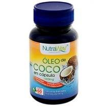 Óleo de Coco 60 Cápsulas - NutraWay