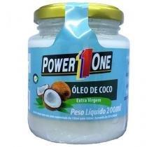 Óleo de Coco Extra Virgem - 200 ml - Power One -