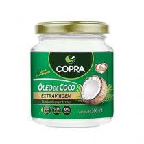 Óleo de Coco Extra Virgem - 200ml - Copra - Copra