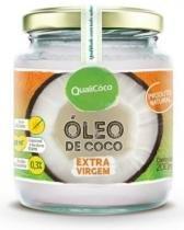 Óleo de Coco Extra Virgem 200ml Qualicôco -