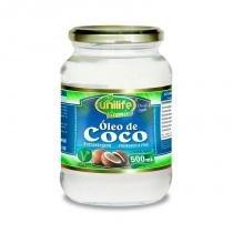 Óleo de Coco Extra virgem - 500 ml - Unilife -