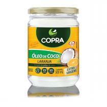 Oleo de coco extra virgem 500ml copra - Laranja -
