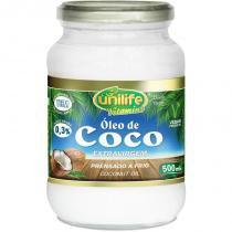 Óleo de Coco Extra Virgem 500ml Unilife -