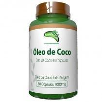 Óleo de Coco Extra Virgem - 60 cápsulas - Saúde e Sabor - Saúde sabor