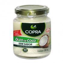 Óleo de Coco Sem Sabor - Copra - 200ml -