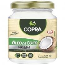 Óleo de Coco Virgem in Natura 200ml - Copra Alimentos
