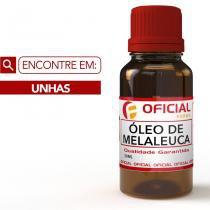 Óleo De Melaleuca 100 Puro 20Ml - Oficialfarma