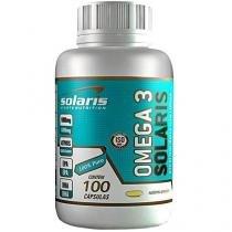 Óleo de Peixe Ômega 3 100 Cápsulas - Solaris Nutrition