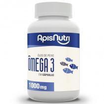 Ômega 3 Óleo de Peixe 1000mg Apisnutri 120 cápsulas -