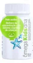 Omega kids dha - vit com omega de algas e oleo de linhaca - 60 caps de 300mg - vital atman -