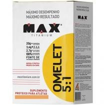 Omelet 5:1. Albumina 450g Muçarela - Max Titanium