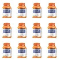 Orange Health Vitamina E Polivitaminico 250mg C/60 (Kit C/12) -