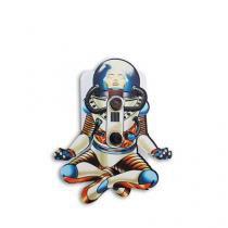 Organizador de Fio Astronauta - Branco - Único - Gorila Clube