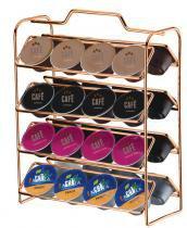 Organizador para cãpsulas de cafã - cobre - Future